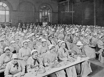 Women _mealtime _st _pancras _workhouse