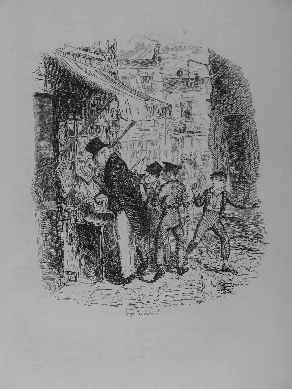 an examination of the character of fagin the jew in charles dickens oliver twist When a jewish friend criticized dickens for labeling fagin, the receiver of stolen goods in oliver twist, as the jew, the distinguished author replied: it unfortunately was true of the time to which that story refers, that that class of criminal almost invariably was a jew.